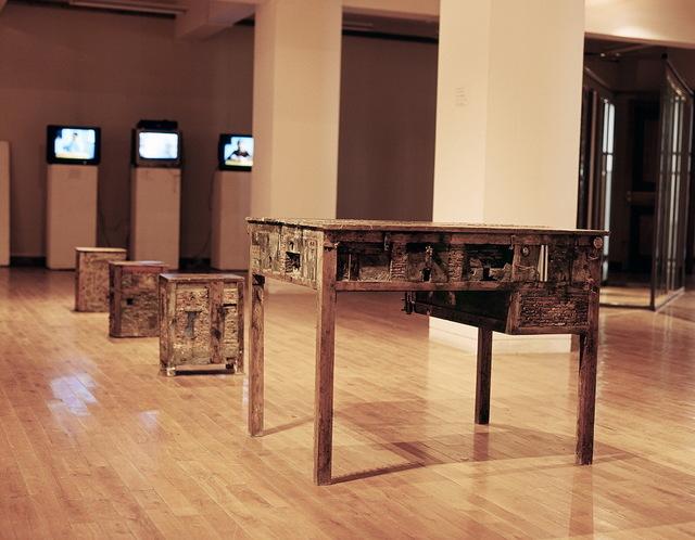 , 'Construction ,' 2002, Hive Center for Contemporary Art