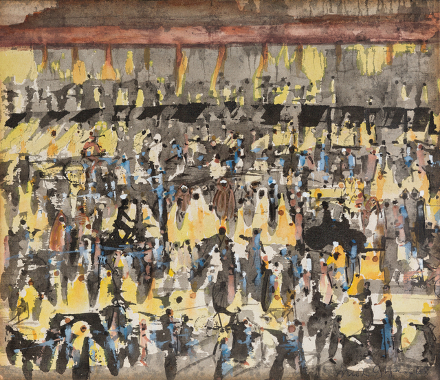 , 'Night in Marrakesh,' 1968, October Gallery