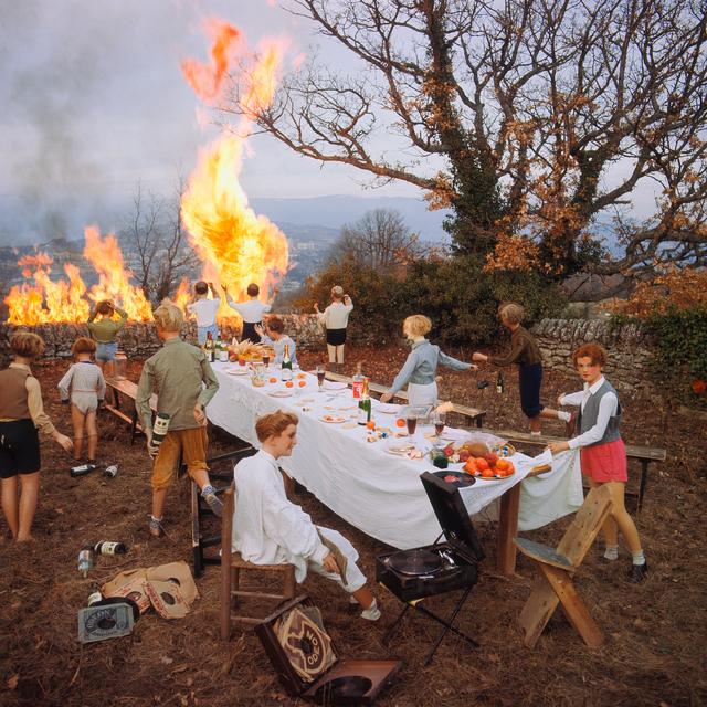 , 'Le banquet,' 1978, Matthew Liu Fine Arts