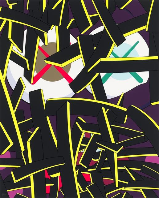 KAWS, 'Paper Smile', 2012, Maddox Gallery
