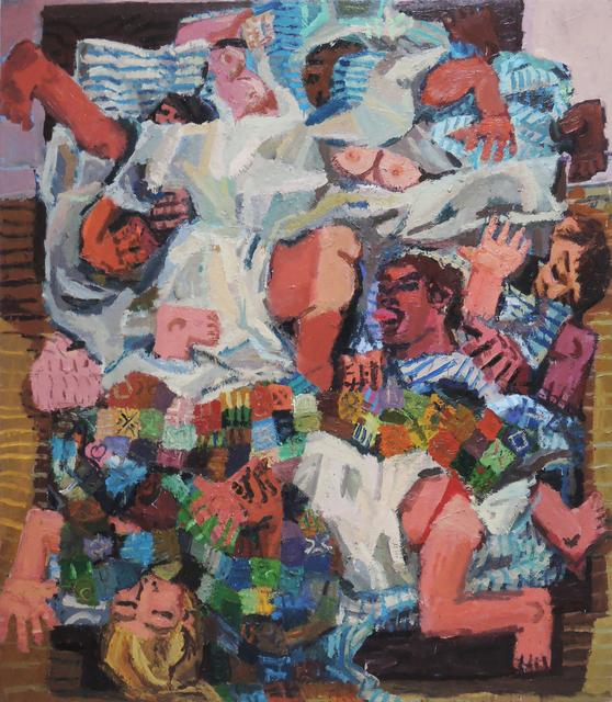 , 'Shake the Sheets 2,' 2017, Galerie Sébastien Bertrand