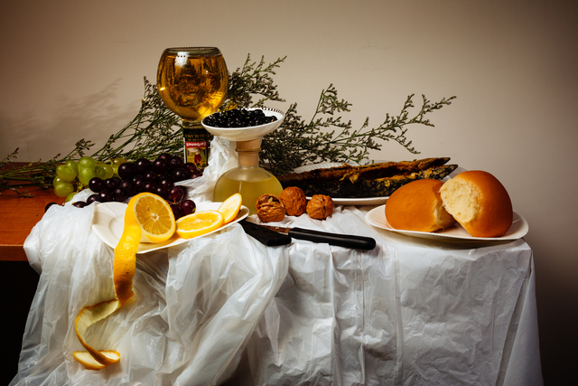 Wong Wai Yin, 'Still life with discounted food on the expiry date,' 2014, Para Site