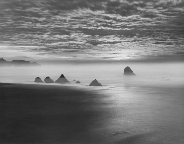 , 'Triangle Rocks, Garrapata Beach,' 1998, Robert Mann Gallery