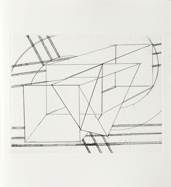 Al Held, 'III from Der Philosoph Portfolio', 1983, RoGallery