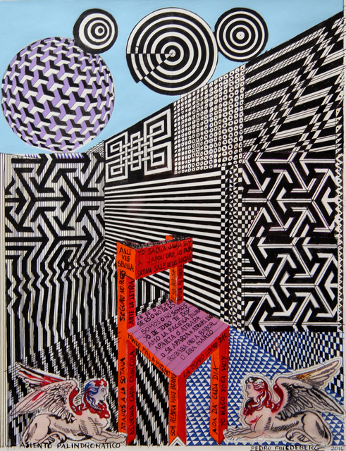 , 'Asiento Palindromático,' 2016, MAIA Contemporary