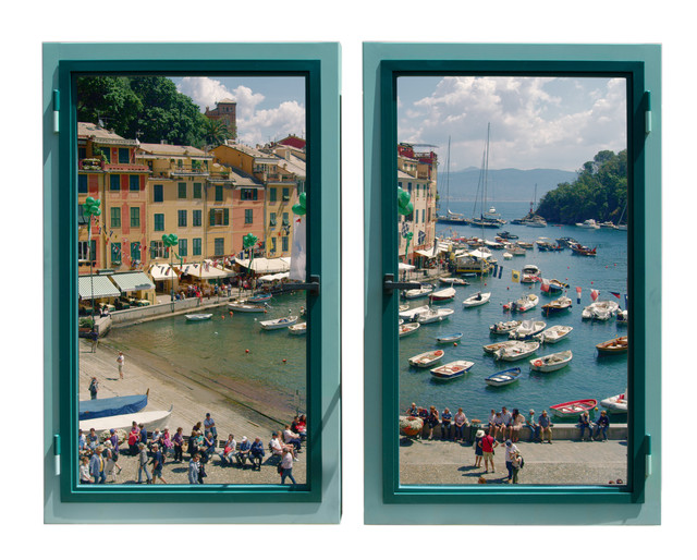 , 'ANOTHERVIEW N.13: Early summer in Portofino, La Piazzetta, Portofino, Italy, 19th of May 2018 (luxury edition),' 2018, Gallery ALL