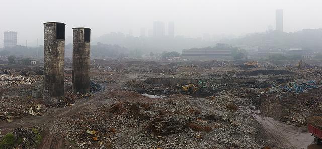 He Xingyou, 'Chongqing Steel Factory Ruins', Contemporary by Angela Li