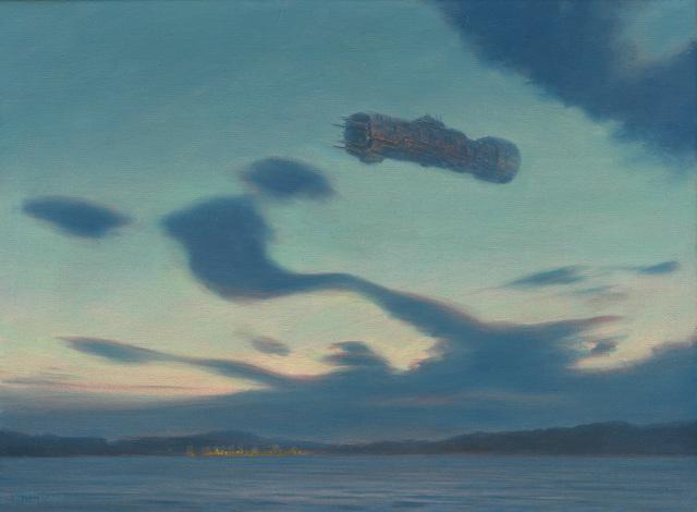 Mark Harrison, 'Twilight Visitors', 2019, Painting, Oil on linen, IX Gallery