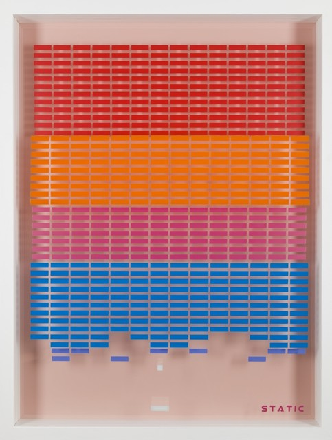 , 'Break-Out  (Red, Orange, Pink and Blue),' 2016, Lawrence Alkin Gallery