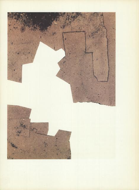 Eduardo Chillida, 'Unknown', (Date unknown), Print, Stone Lithograph, ArtWise