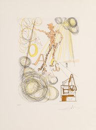 La linotype, from Hommage a Leonardo da Vinci
