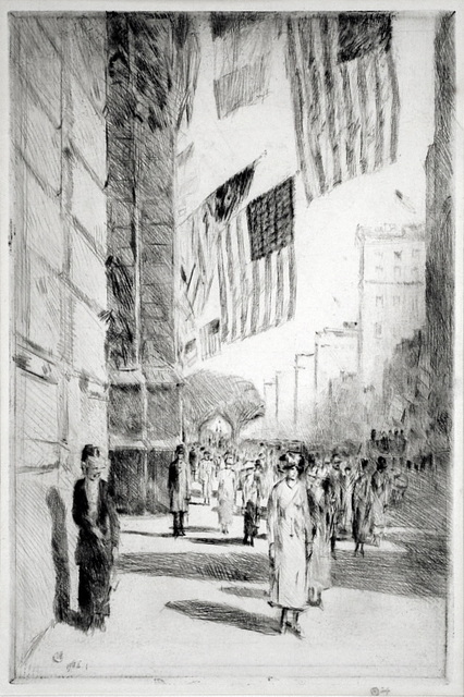 , 'The Avenue of the Allies,' 1918, Harris Schrank Fine Prints