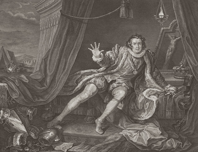 , 'Mr. Garrick in The Character of Richard 3rd,' 1746, Eames Fine Art