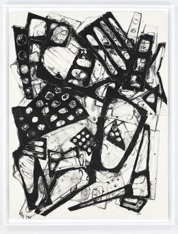 , 'Double Water Drawing 8/7/13 (B),' 2013, David Nolan Gallery