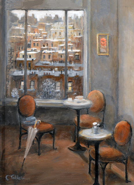 Carole Teller, 'Tea With a View', 2019, The Galleries at Salmagundi