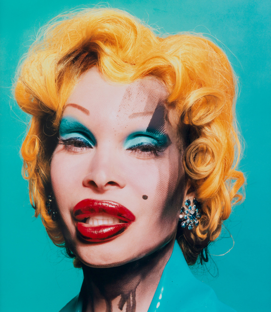 David LaChapelle, 'Amanda as Warhol's Marilyn,' 2002, Galerie Andrea Caratsch