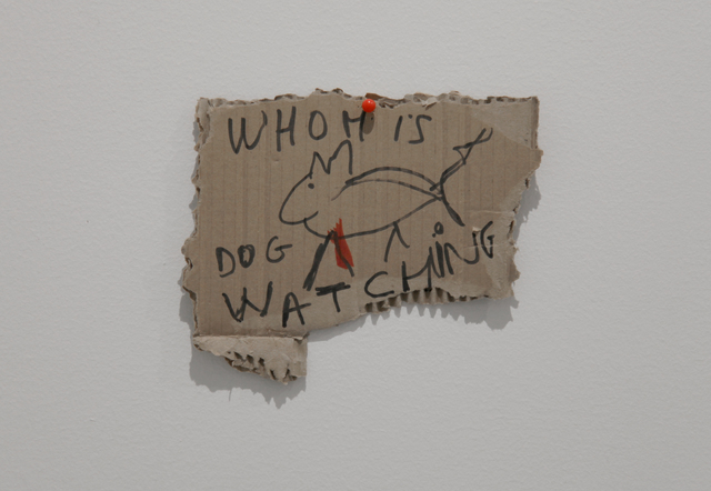 , 'Whom Is the Dog Watching ,' 2017, SABSAY