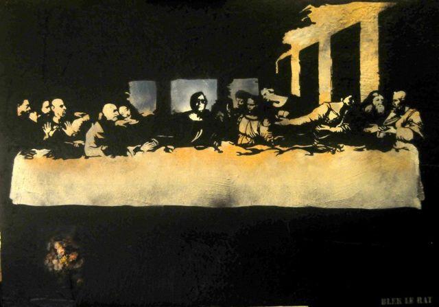 , 'Blek´ s Last Supper ,' 2016, Galerie Kronsbein