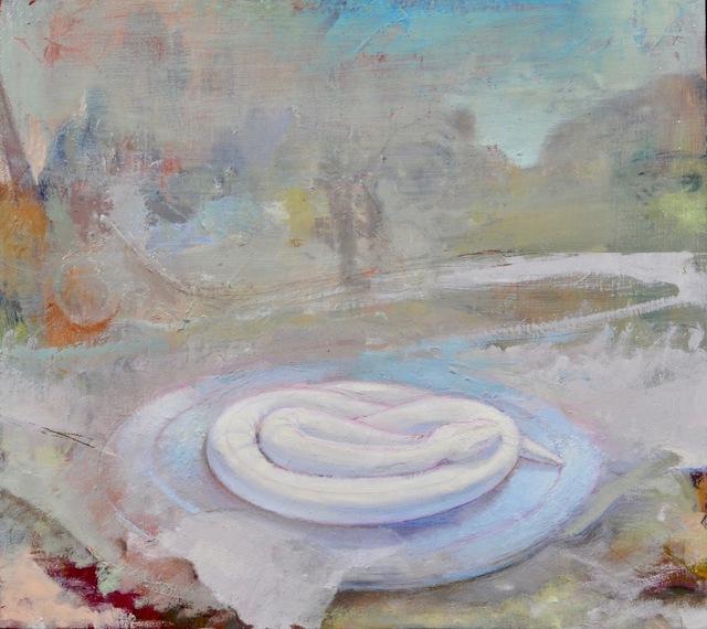 , 'White Snake II,' 2018, Alpha Gallery