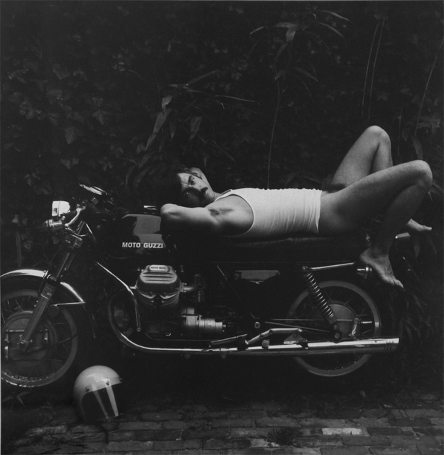 Robert Giard, 'Man on Motorcycle', 1977, ClampArt
