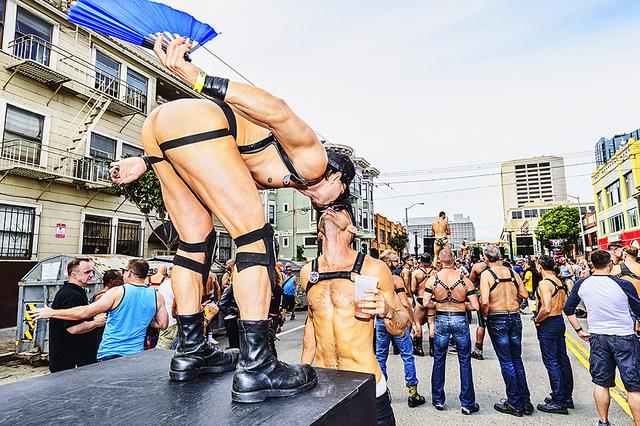 Mitchell Funk, 'The Kiss, Folsom Street Fair, BDSM Leather Event #28', 2015, Robert Funk Fine Art