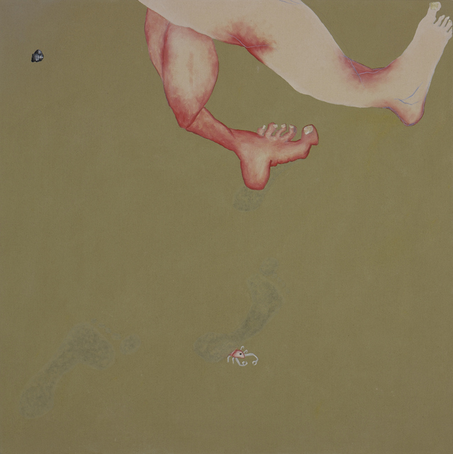 , 'Feet and Footsteps,' 2012, NUNU FINE ART