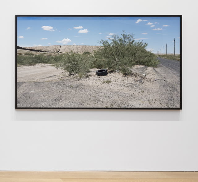 , 'At The Border, Fixed Limit (Cast No Shadow, Leave No Trace) Anapra Road, New Mexico,' 2017, Alexander and Bonin