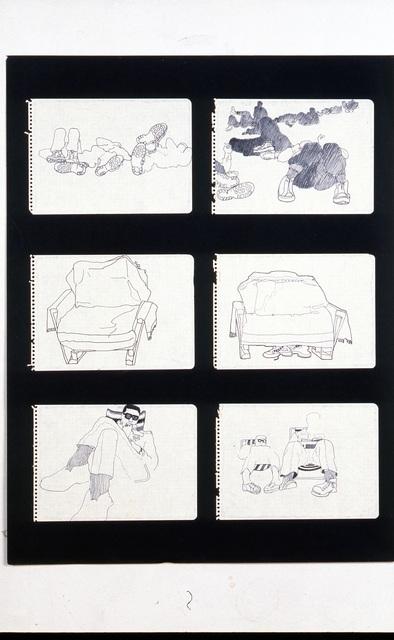 , 'Cuaderno Castillejos #4,' 1965, Henrique Faria Fine Art