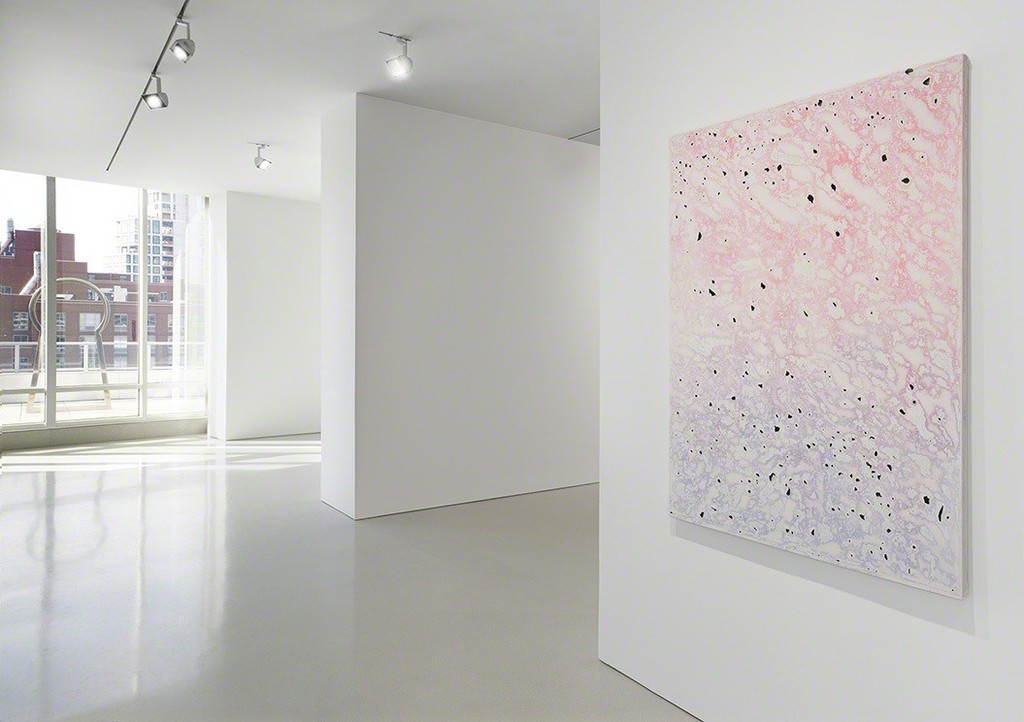 "Installation view of ""Surface Tension"". Photo by Genevieve Hanson, NYC"