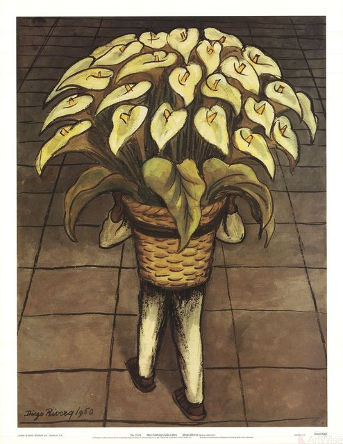 , 'Man Carrying Calla Lilies,' 2000, ArtWise