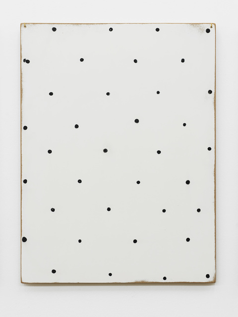 , 'Thoughts collected on the surface of a panel (these thirty-six points are a field of thought),' 2013, Supportico Lopez