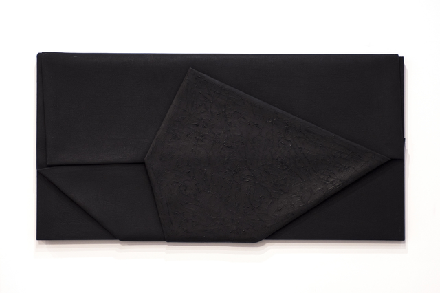, 'Fold the Black,' 2014, Wook + Lattuada Gallery