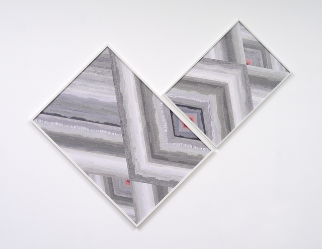 , 'Tilted Black and White Diamond Glow – Trustworthy X – x #156,' 2012, Kukje Gallery