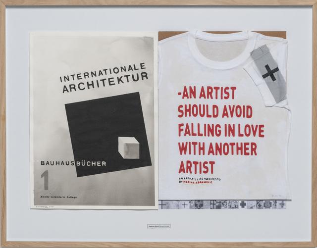 Roman Uranjek & Radenko Milak, '8. October 2018 (International Architektur - Marina Abramovič)', 2018, Ani Molnár Gallery