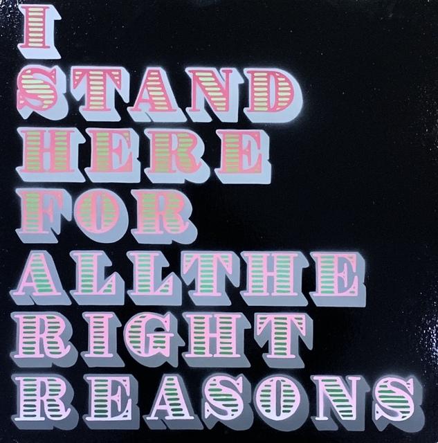 ", '""I Stand Here"" Pink Fade ,' 2018, Landmark Street Art"