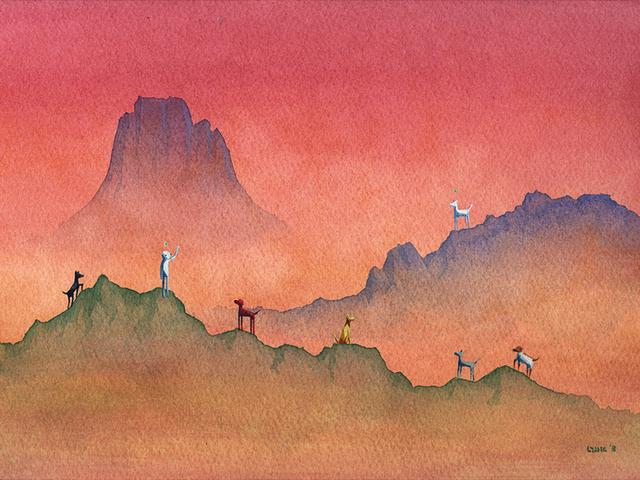 , 'Atari's Quest,' 2018, Spoke Art