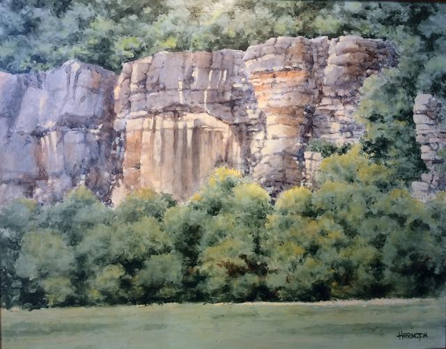 , 'Roark Bluff at Steel Creek,' 2014, Greg Thompson Fine Art