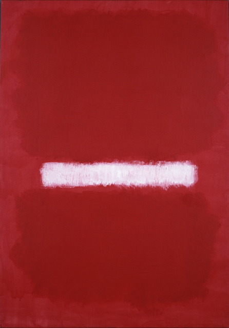 Mark Rothko, Untitled, 1968 Oil on paper mounted on linen