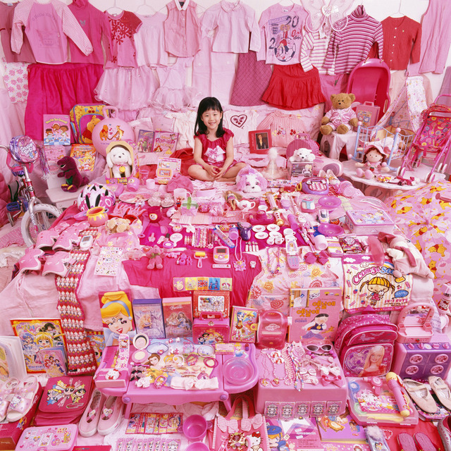 , 'Jiwoo and Her Pink Things,' 2007, Rosier Gallery