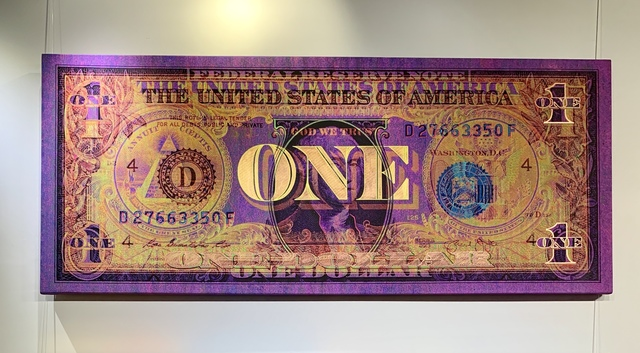 Josh Leidolf aka TRAN$PARENT, 'AMERICAN ROYALTY', 2019, Marcel Katz Art