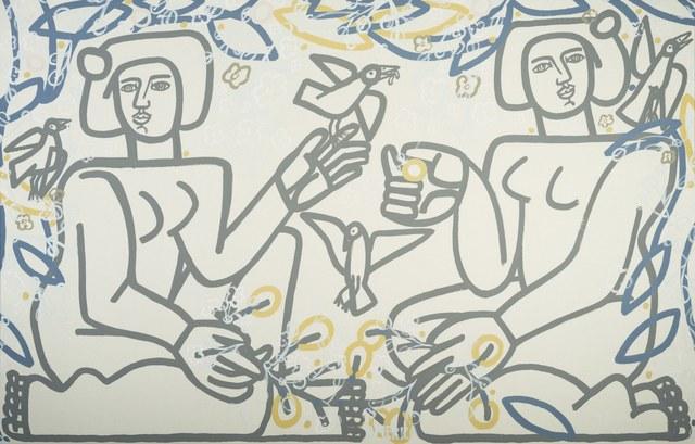 , 'Birds Under Tree,' , Joanne Artman Gallery