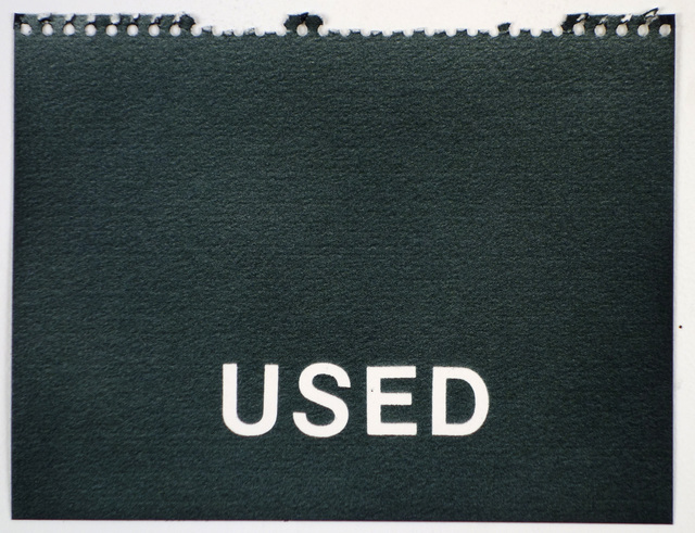 , 'Used (black),' , Rodolphe Janssen
