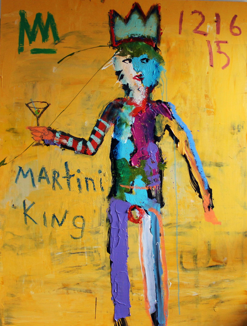 , 'Martini King,' 2016, Rice Polak Gallery