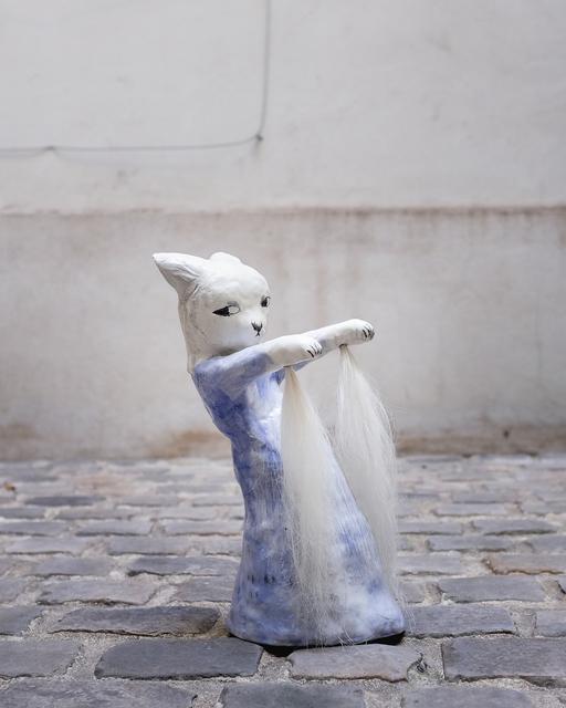 , 'Dancing with horsehair,' 2018, Antonine Catzéflis