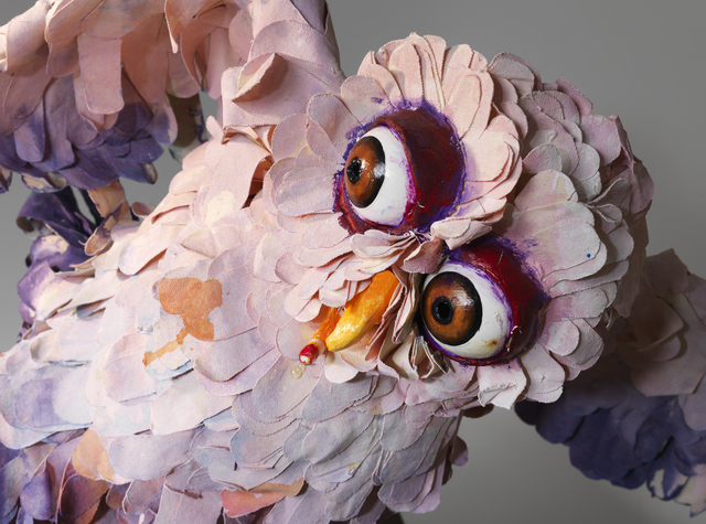 , 'A Thief Caught in the Act (Pink Owl),' 2015, Lisson Gallery