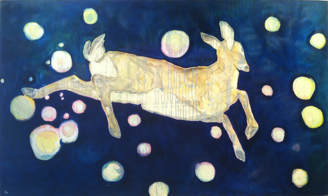 Todd Horton, 'A Deer Follows Down From His Natural Home in the Stars', Visions West Contemporary