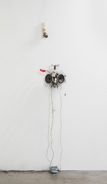 Janet Cardiff & George Bures Miller, 'Exquisite Corpse, burlesque', 2012, Installation, Mixed media installation including speakers, motors, and audio, Luhring Augustine