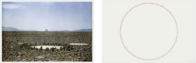 Richard Long, 'Two Sahara Works', 1988, Schellmann Art