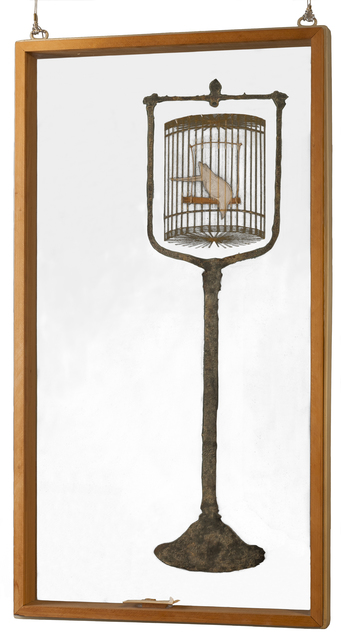, 'Bird in a Cage,' 1976, Contemporary Arts Museum Houston