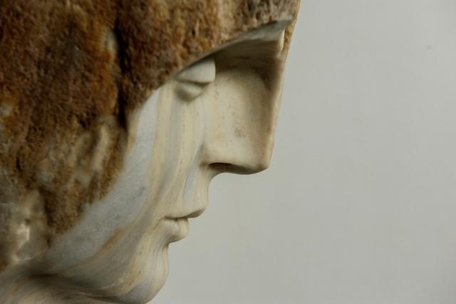 Domenico Ludovico, ' Self 01', 2019, Sculpture, Zebrino Marble, ARTE GLOBALE